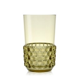 Cadouri pentru gratar Pahar cocktail Kartell Jellies Family design Patricia Urquiola, d 8.5cm, h15cm, verde transparent