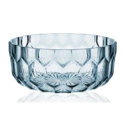 Default Category SensoDays Bol Kartell Jellies Family design Patricia Urquiola, 32cm, albastru transparent