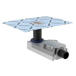 Default Category SensoDays Sifon de pardoseala Geberit FloorDrain cu gratar inox, pentru pardoseli 90-200 mm