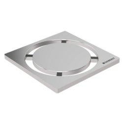 Default Category SensoDays Gratar pentru sifon pardoseala Geberit FloorDrain, inox periat, rotund, 8x8 cm
