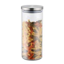 Servirea mesei Recipient sticla cu capac inox Karl Weis 1200ml
