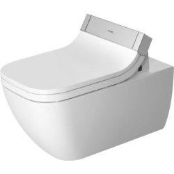 Obiecte sanitare Vas WC suspendat Duravit Happy D.2 62cm pentru capac cu functie de bideu SensoWash
