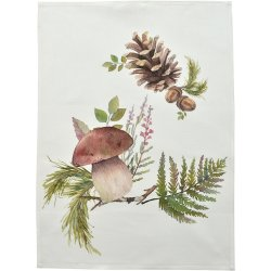 Prosop de bucatarie Sander Prints Porcino Lino 50x70cm, 40 original