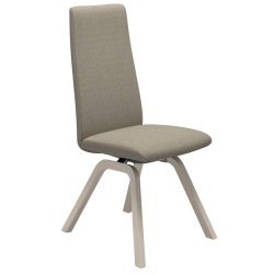Default Category SensoDays Scaun Stressless Laurel D200 M cu spatar inalt, cadru Oak Whitewash, tapiterie Silva Beige