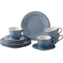 Servirea mesei Set servire like. By Villeroy & Boch Color Loop Horizon Coffee 12 piese