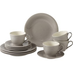 Default Category SensoDays Set servire like. By Villeroy & Boch Color Loop Stone Coffee 12 piese