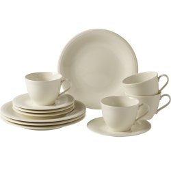 Servirea mesei Set servire like. By Villeroy & Boch Color Loop Natural Coffee 12 piese
