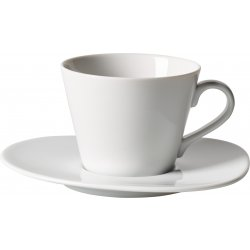 Ceasca si farfuriuta cafea like. By Villeroy & Boch Organic White 0.27 litri
