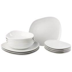 Set servire like. by Villeroy & Boch Organic White Starter Set 12 piese