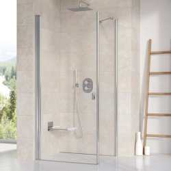 Usa de dus Ravak Concept Chrome CRV1-90, 90cm, alb