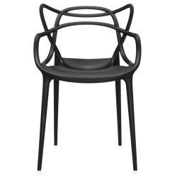 Cadouri Ocazii Speciale Scaun Kartell Masters design Philippe Starck & Eugeni Quitllet, negru