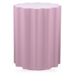 Masute de cafea Masuta Kartell Colonna design Ettore Sottsass, 34.5cm, h 46cm, roz
