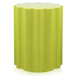 Masute de cafea Masuta Kartell Colonna design Ettore Sottsass, 34.5cm, h 46cm, verde