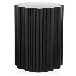 Mobilier Masuta Kartell Colonna design Ettore Sottsass, 34.5cm, h 46cm, negru