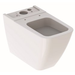 Vase WC Vas WC Geberit iCon Square 63.5cm, back-to-wall, pentru rezervor aparent, alb