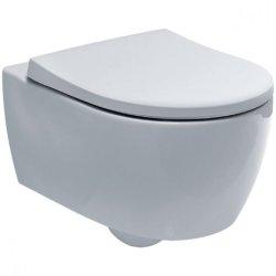 Seturi vase WC Set vas wc suspendat Geberit iCon Rimfree cu capac inchidere lenta