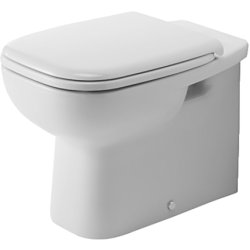 Default Category SensoDays Vas WC Duravit D-Code back-to-wall pentru rezervor ingropat