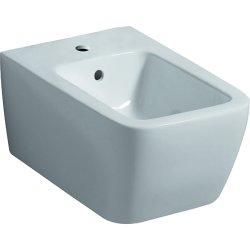 Obiecte sanitare Bideu suspendat Geberit iCon Square 54cm, alb