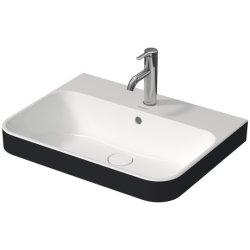 Obiecte sanitare Lavoar Duravit Happy D.2 60x46cm, montare pe mobilier, alb-Antracit Mat