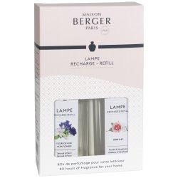 Lampi catalitice & Accesorii Set 2 parfumuri pentru lampa catalitica Berger Fleurs de Musc & Paris Chic 2 x 250ml
