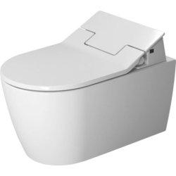 Vase WC Vas WC suspendat Duravit ME by Starck, 57x37cm, pentru capac cu functie bideu SensoWash