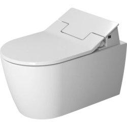 Vase WC Vas WC suspendat Duravit ME by Starck Rimless 57cm pentru capac cu functie de bideu SensoWash