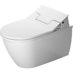 Vase WC Vas WC suspendat Duravit Darling New 57cm pentru capac cu functie de bideu SensoWash