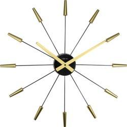 Produse Noi Ceas de perete NeXtime Plug Inn 58cm, auriu