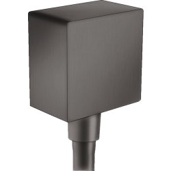Default Category SensoDays Accesoriu Hansgrohe FixFit Square, negru periat