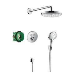 Sisteme de dus incastrate Sistem de dus incastrat termostatat Hansgrohe Design Raindance Select S Shower Select S cu 2 consumatori