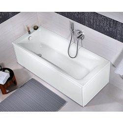 Cazi de baie simple Cada baie rectangulara Kolo Rekord 140x70cm, acril
