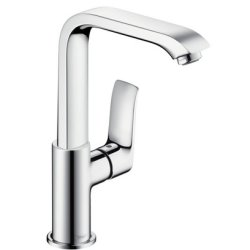 Default Category SensoDays Baterie lavoar Hansgrohe Metris 230, ventil pop-up, crom