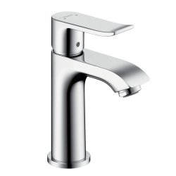 Default Category SensoDays Baterie lavoar Hansgrohe Metris 100, ventil pop-up, crom