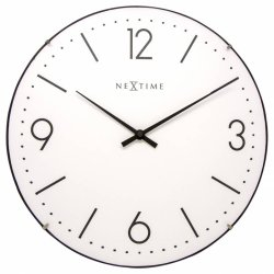 Default Category SensoDays Ceas de perete NeXtime Basic Dome 35cm