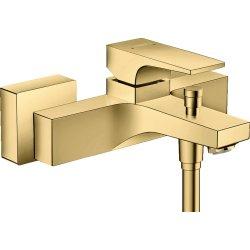 Baterie cada Hansgrohe Metropol, proiectie 18cm, gold optic lustruit