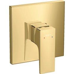 Baterii de baie Baterie dus Hansgrohe Metropol montaj incastrat, necesita corp incastrat, gold optic lustruit
