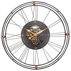 Produse Noi Ceas de perete NeXtime Roman Gear XXL 90.5cm, negru-auriu