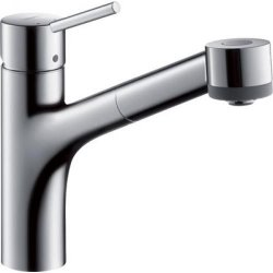 Default Category SensoDays Baterie bucatarie Hansgrohe Talis S, dus extractibil, crom