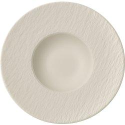 Farfurie paste Villeroy & Boch Manufacture Blanc Rock 28.5cm