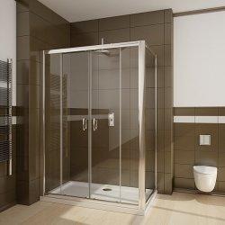 Panouri si usi de dus Perete lateral Radaway Premium Plus S70 70x190 geam transparent profil crom