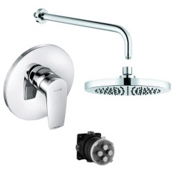 Default Category SensoDays Sistem de dus incastrat Kludi Pure&Solid A-QA cu un consumator