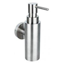 Accesorii baie Dispenser sapun lichid Bemeta Neo crom mat cu montaj pe perete