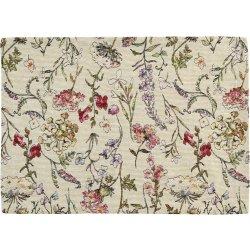 Textile decorative de masa Suport farfurii Sander Jacquards Garden 35x50cm, 49 crem