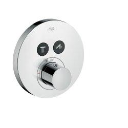 Baterie cada termostatata Hansgrohe Axor Uno Select, montaj incastrat, necesita corp incastrat