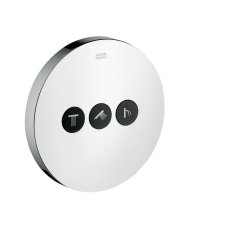 Default Category SensoDays Divertor Hansgrohe Axor Uno Select pentru 3 consumatori, montaj incastrat, necesita corp ingropat