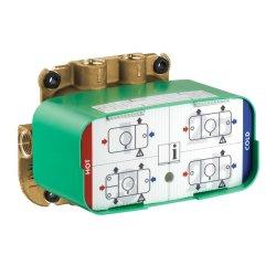 Cadre & Corpuri incastrate Corp incastrat Hansgrohe Axor ONE pentru baterii de dus termostatate