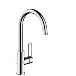 Default Category SensoDays Baterie lavoar Hansgrohe Axor Uno 240 inalta, corp 23, 8 cm crom