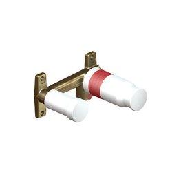 Sistem ingropat Kludi pentru baterie lavoar cu montaj pe perete