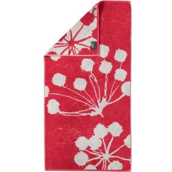 Default Category SensoDays Prosop baie Cawo Cottage Floral 50x100cm, 27 rosu bordeaux