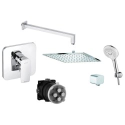Default Category SensoDays Sistem de dus incastrat Kludi Pure&Style A-QA cu doi consumatori